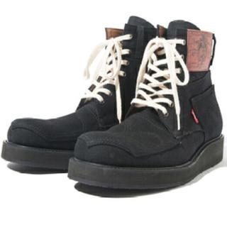 glamb  ブーツ デニム ブラック