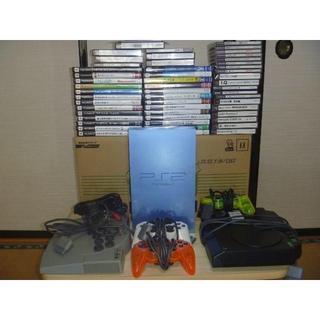 プレイステーション2(PlayStation2)のPS2アクア アケコン ビートマニアコントローラー 他大量まとめセット ジャンク(家庭用ゲーム本体)