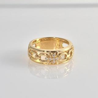 ヴァンドームアオヤマ(Vendome Aoyama)のヴァンドーム青山 k18 ダイヤモンドリング(リング(指輪))