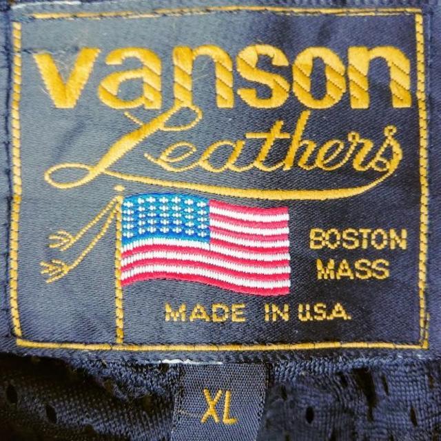 VANSON(バンソン)の★TGBOB様★vanson バンソン コットンジャケット メンズのジャケット/アウター(ブルゾン)の商品写真