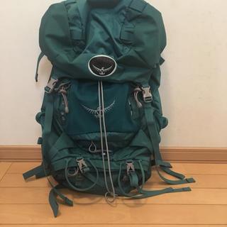 オスプレイ(Osprey)の登山ザック(登山用品)