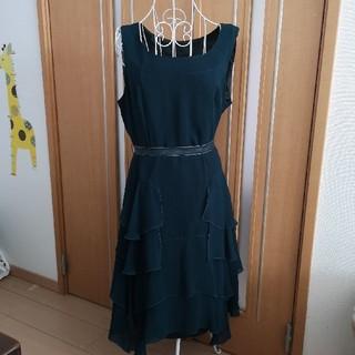 アールユー ru  フリル マーメイド ドレス ワンピース リボン 大きいサイズ