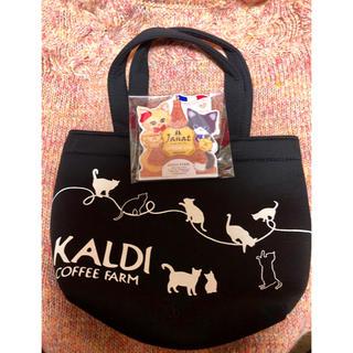 KALDI ネコの日バッグとカレンダー(トートバッグ)