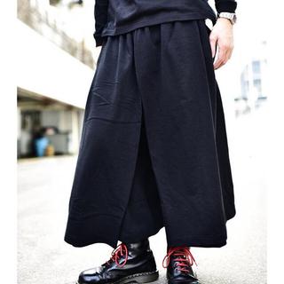 ヨウジヤマモト(Yohji Yamamoto)のgroundY 袴スカートパンツ 2018aw(サルエルパンツ)