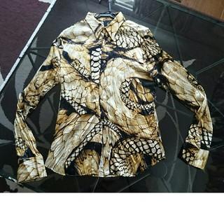 Just Cavalli ジャストカバリ 綺麗なシャツ サイズ48