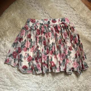 イング(INGNI)のスカート 花柄(ミニスカート)