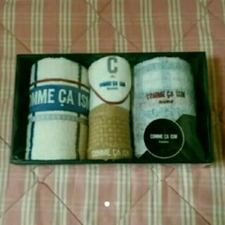 コムサイズム(COMME CA ISM)のコムサイズム タオルセット(タオル/バス用品)