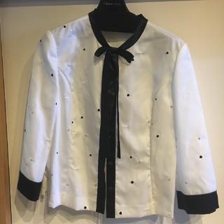 ブルネロクチネリ(BRUNELLO CUCINELLI)の水玉ドットシャツ(シャツ/ブラウス(長袖/七分))