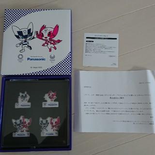 パナソニック(Panasonic)のパナソニック 東京2020 オリンピック.パラリンピック ピンバッチセット非売品(ノベルティグッズ)