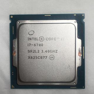 インテレクション(INTELECTION)のI7-6700 ジャンク(PCパーツ)