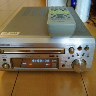 デノン(DENON)のADV-M71 DENON DVDチューナーアンプ 動作品(アンプ)