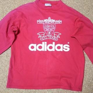 アディダス(adidas)のLiverpool 80年代 長袖Tシャツ アディダス 赤(記念品/関連グッズ)