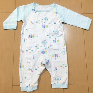 430025bbac69f コンビミニ(Combi mini)のパジャマ 70-80 ラップクラッチ コンビミニ combimini(カバーオール
