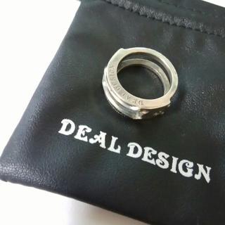 ディールデザイン(DEAL DESIGN)のDEAL DESIGN リング シルバー 指輪(リング(指輪))