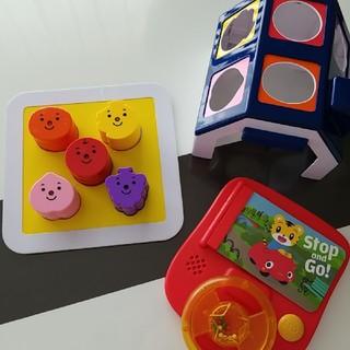 ベネッセ★かたはめハウスとstop&goおもちゃセット(知育玩具)
