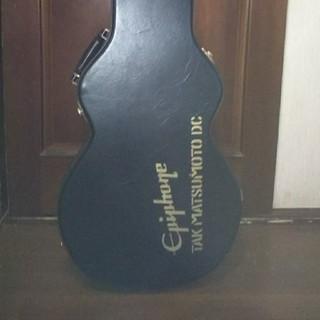 エピフォン(Epiphone)のBZ TAKUMATSUMOTO モデル ギターハードケース(鍵付き)(ケース)