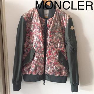 モンクレール(MONCLER)の美品 正規店購入 モンクレール ダウンジャケット ブルゾン ジャケット(ダウンジャケット)