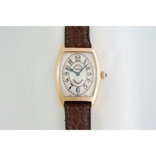 フランクミュラー(FRANCK MULLER)のフランク・ミュラー☆トノーカーベックス☆クロノメトロ☆1752QZ☆中古美品(腕時計)