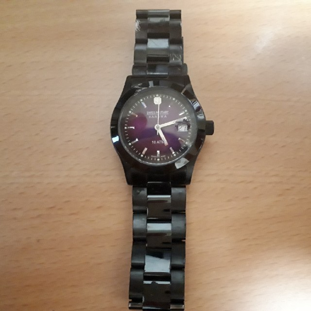 e5ffa0ebd2 SWISS MILITARY(スイスミリタリー)のアメカジ腕時計 スイスミリタリーパープル メンズの時計(