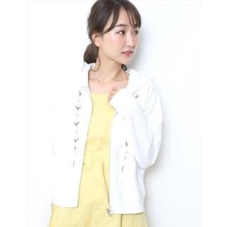 リランドチュール(Rirandture)の♡リランドチュール ビジュー付パーカー♡(パーカー)