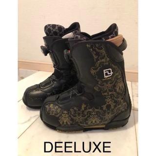 最終値下げ!DEELUXE 24.5cm スノーボード ブーツ(ブーツ)