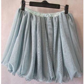デイジークレア(DazyClair)の新品未使用 スカート フレア ギャザー ミニ チュール(ミニスカート)