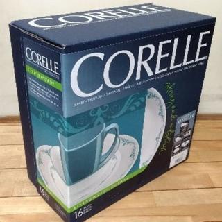 コレール(CORELLE)の【新品】CORELLE コレール ガーデンレース 16ピースセット(食器)