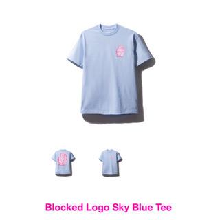 アンチ(ANTI)のASSC LOGO TEE 半袖 sky blue Sサイズ(Tシャツ/カットソー(半袖/袖なし))