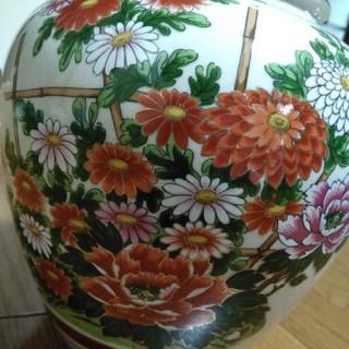 クタニセイヨウ(九谷青窯)の九谷焼 花瓶(花瓶)