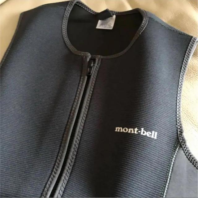 mont bell(モンベル)の廃盤 超美品 モンベル ベスト サイズXL  ウェットスーツ パドリングスーツ スポーツ/アウトドアのスポーツ/アウトドア その他(サーフィン)の商品写真
