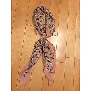 アルテア(ALTEA)の新品未使用  altea シルクスカーフ(バンダナ/スカーフ)
