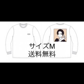 ソフ(SOPH)のKYNE X ROCKS ロングTシャツ 白(Tシャツ/カットソー(七分/長袖))