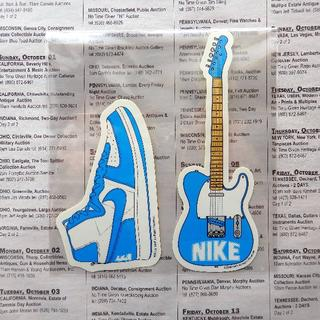 NIKE - ナイキ ステッカー スニーカー ギター シール