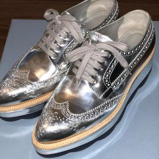 PRADA レースアップシューズ(ローファー/革靴)