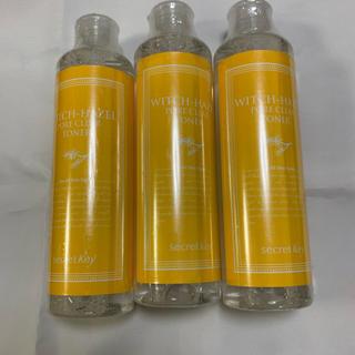 シークレットキー(Secret Key)の新品 シークレットキー 化粧水3本セット 消費期限2020.4月(化粧水 / ローション)