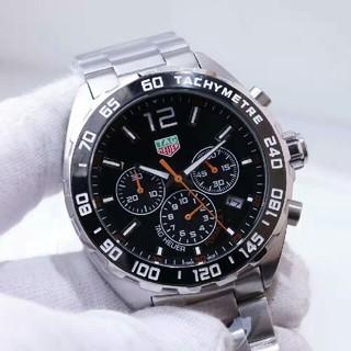 タグホイヤー(TAG Heuer)のタグホイヤー カレラ クロノグラフ メンズ ブラック 文字盤 (腕時計(デジタル))