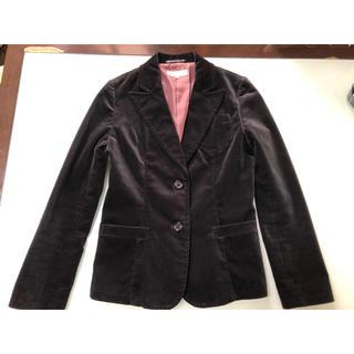 ヌール(noue-rue)のレディースジャケットブラック(サイズ3(L))(テーラードジャケット)