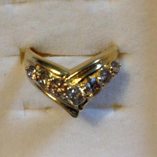 18金  ダイヤモンド  リング  15号  1カラット超  k18(リング(指輪))