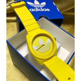 アディダス(adidas)の★ adidas 腕時計 イエロー 黄色 美品 ★ 保管品(腕時計(アナログ))