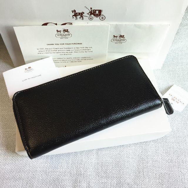 f235ab26c8c7 COACH(コーチ)のCOACHコーチ長財布 16122 ブラック スヌーピー女性財布 アウトレット品