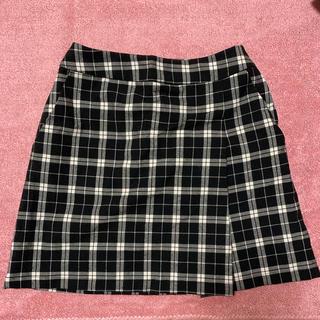 ローリーズファーム(LOWRYS FARM)のチェック柄スカート(ミニスカート)