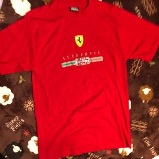 オーセンティックシューアンドコー(AUTHENTIC SHOE&Co.)のTシャツ 赤 AUTHENTIC メンズ 男女兼用(Tシャツ/カットソー(半袖/袖なし))