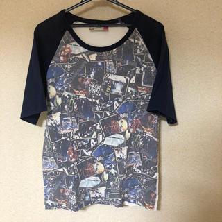 ソアー(SOAR)の SOARのバンド柄ラグランTee(Tシャツ/カットソー(半袖/袖なし))