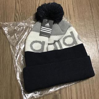 アディダス(adidas)の3月末まで出品!アディダス  春 ニット(ニット帽/ビーニー)