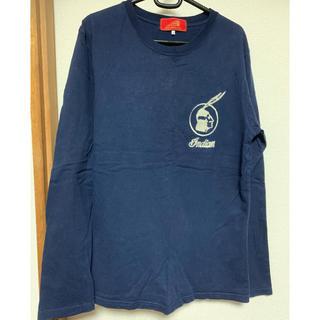 インディアン(Indian)のインディアンモーターサイクル 刺繍ロンT L(Tシャツ/カットソー(七分/長袖))