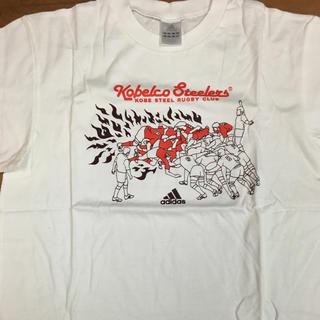アディダス(adidas)の【新品】コベルコスティーラーズ 神戸製鋼  Tシャツ(ラグビー)