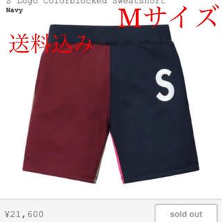 シュプリーム(Supreme)のシュプリーム   S Logo Colorblocked Sweatshort(ショートパンツ)