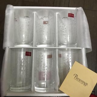 クリスタルダルク(Cristal D'Arques)のグラス コップ 6個セット Cristal D'ARQUES paris(グラス/カップ)