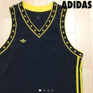 アディダス(adidas)の#3240 adidas アディダス タンクトップ 星柄(タンクトップ)