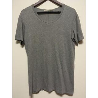 エヌフォー(N4)のN4☆Uネック☆シンプルTシャツ☆グレー☆(Tシャツ/カットソー(半袖/袖なし))